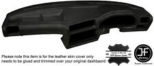 BLACK STITCH DASHBOARD LEATHER SKIN COVER FOR BMW 3 SERIES E30 81-92 STYLE 2