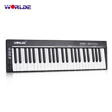 WORLDE KS49C-A 49-Key USB MIDI Keyboard Controller Built-in Sound Source Y1K2