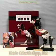 Retired 1E Painted Ponies 4020478 WARRIOR BROTHERS #2436 Resin Horse Figurine