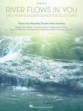 """""""River Flows in You and Other Eloquent Songs for Piano Solo"""" MUSIC BOOK-NEW-SALE"""