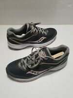 Saucony Cohesion 11 Women's Running Cross Training Shoes Size 11 Gray Peach
