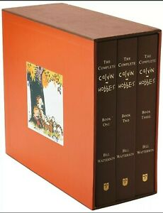 The Complete Calvin and Hobbes Hardcover Box Set Collection by Bill Watterson!