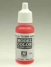 Vallejo 70909 Model Color Verkehrsrot, Matt, 17 ml (16,18 € / 100 ml)