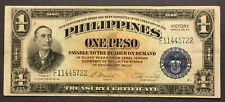 1944 - Philippines 1 Peso - Victory Series