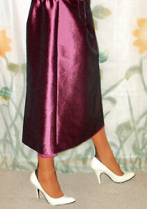 Satin Slip Skirt Double Layer 100% Polyester Lining Slip Size XL