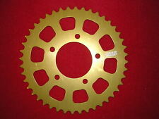OZ Wheel 47T 520 Talon Alloy Gold Anodised Sprocket, 76mm Bore SIze. New