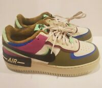 RARE Nike Wmns Air Force 1 Shadow SE 'Cactus Flower' Size 8.5 CT1985-500