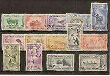 FALKLAND ISLANDS 1952 TO £1 SG172/85 VFU
