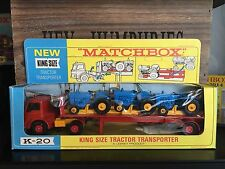 matchbox king size K 20A-1.Set mint Pictureblisterbox mint from 1968