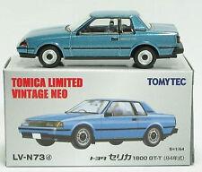 TOMYTEC TOMY TOMICA LIMITED VINTAGE NEO  LV-N73d TOYOTA CELICA 1800GT-T 1:64