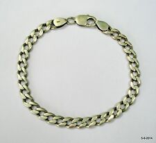 vintage antique tribal old silver link chain bracelet handmade jewelry india