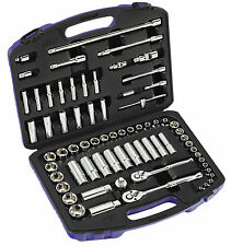 "Britool Hallmark 70 Piece 1/4"" & 3/8""dr Socket & Accessory Set SMSET70"