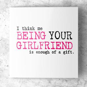 Funny Anniversary Birthday card for Boyfriend Fiance Rude Humour Joke