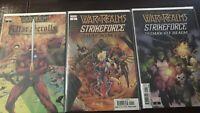 War of the Realms: War Scrolls #1 Strike Force War Avengers #1 Dark Elf Realm #1
