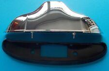 Phare lumière plaque d'immatriculation plastique chrome Fiat 500 F/L/R