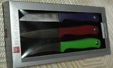WUSTHOF SILVER POINT 3PC paring knives set TRI COLOR # 9352C brand new IN BOX
