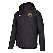 Real Salt Lake MLS Adidas ClimaStorm Sew-Down  Black Condivo 18 Storm Jacket