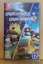 OVERCOOKED! + OVERCOOKED 2 SPECIAL EDITION NINTENDO SWITCH GREAT GAME EXCELLENT