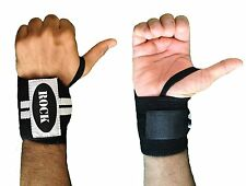 Rock Peso Sollevamento Polso Wraps Bandage cinghie di supporto a Mano Palestra cotone Controvento