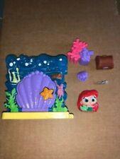Disney Doorables Ariel  - Little Mermaid Playset Series/ Season 2 - Rare