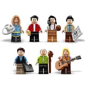 NEW LEGO FRIENDS MINIFIGURES - Split from 21319 - Central Perk Friends TV Show