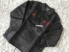 Nike Air Jordan kaws L Coaches Jacket 884483-010 Jumpman 3 M 4 IV compagnon Grand