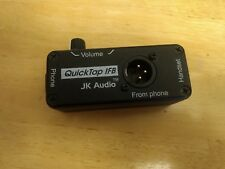 QuickTap Ifb  Jk Audio Handset phone jack Ifb Tap