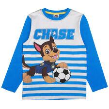 Nuevo Paw Patrol Chase jóvenes camisa camuflaje azul Gr. 92 98 14 116 nº 82018