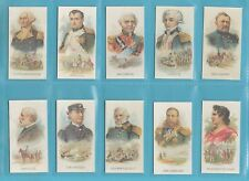 NATIONS - NOSTALGIA CLASSIC REPRINTS - KINNEY BROS. - 10  SETS  OF 25 - LEADERS