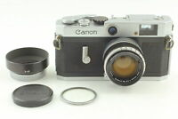 [Exc+5 w/ Hood] Canon P Rangefinder Film Camera + 50mm f1.8 Lens From JAPAN