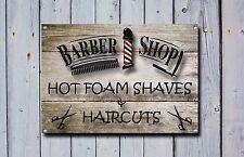 Barber SHOP insegna, segno di metallo, Barbiere segni, uno stile moderno, barbiere, 861