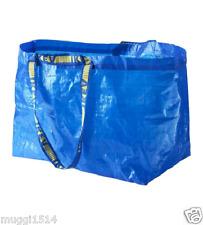 IKEA FRAKTA Borsa grande per la biancheria blu idealfor Shooping, lavanderia, Storage 71 L