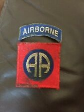 WW2 US 82ND AIRBORNE SLEEVE PATCH REPRODUCTION