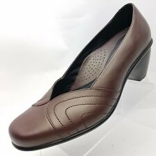 Dansko Reese Womens Dress Pumps Brown Leather Size 42 Slip On 11.5/12 US Size