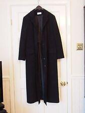 PRECIS PETITE  Black Polyester full length coat SIZE 16