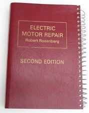 Robert Rosenberg / Electric Motor Repair / second edition