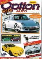 Magazine Option auto N° 76 Janvier 1997