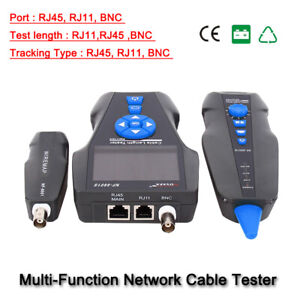 Noyafa NF-8601S TDR Cable Length Tester Network Tracker BNC lan RJ45  Detector