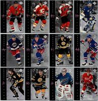 1995-96 UPPER DECK FREEZE FRAME INSERT CARDS - PICK SINGLES - FINISH SET Rare BV