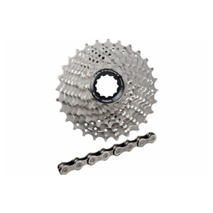 New Shimano Ultegra CS-R8000 11/28 Cassette & CN-HG701 11 Speed Chain