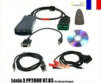 Lexia3 PP2000 V48 Scanner Diagbox V7.83 pour outil de diagnostic Citroen Peugeot