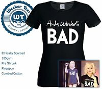 Worn By Debbie Harry of Blondie - Andy Warhols Bad New T-Shirt Great Fancy Dress