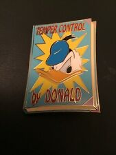2004 DISNEY AUCTIONS SERIES DONALD DUCK TEMPER CONTROL BOOK PIN LE 1000