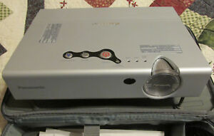 Panasonic PT-LB10SVU LCD Projector - complete system