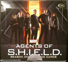 Marvel Agents of Shield Complete Base Set, Box, All Wrappers Lot Trading Cards