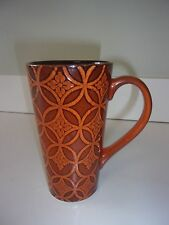 Nature's Home Rust Color Brown Coffee Mug Cup Tall 6 inches
