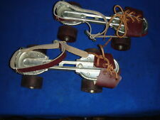 VTG SEIKO ADJUSTABLE SIZE METAL ROLLER SKATES SKATING TAIWAN ADJUSTABLE SIZE'S