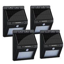 4Pcs 20 LED Solar Motion Sensor Lights, Super Bright Wireless Waterproof Outdoor
