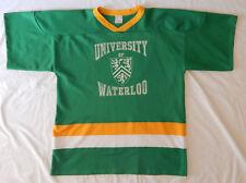 Vintage University Of Waterloo Warriors Football Ak Jersey Size Adult Xl Canada
