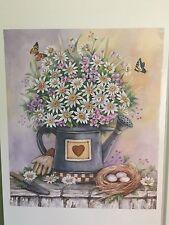 Standard Country Daisy Kitchen Decorative Fridge Magnet Pitcher Floral Decor